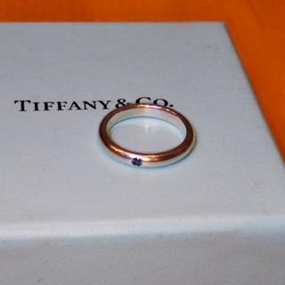 ティファニー(Tiffany & Co.)のTIFFANY&CO☆ブルーサファイアリング10号(リング(指輪))