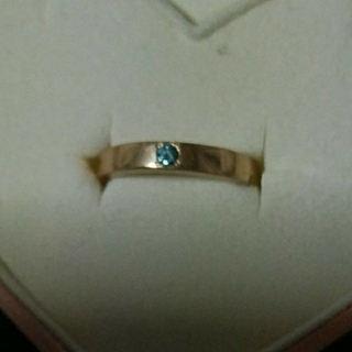 K18 ブルーダイヤモンド(リング(指輪))