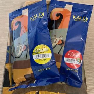 カルディ(KALDI)のカルディ コーヒー豆 ツッカーノ カナリオ(コーヒー)