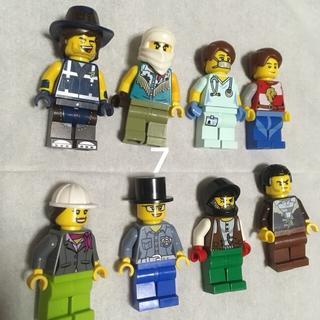 レゴ(Lego)の7 レゴ ミニフィグセット 8体 ミニフィギュア  レゴブロック  (キャラクターグッズ)