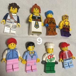 レゴ(Lego)の9 レゴ ミニフィグセット 8体 ミニフィギュア  レゴブロック  (キャラクターグッズ)