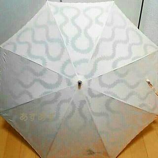 ヴィヴィアンウエストウッド(Vivienne Westwood)のスクイグルデザイン 晴雨兼用傘 オーブ刺繍入り ヴィヴィアン(傘)