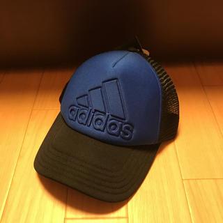 アディダス(adidas)のアディダス キャップ 青(帽子)