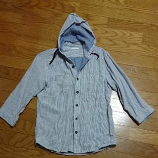 ジーユー(GU)のシャツパーカー(シャツ)
