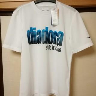 ディアドラ(DIADORA)のタグ付き、新品 ディアドラ Tシャツ メンズM(ウェア)