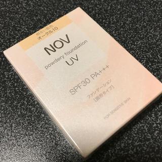 ノブ(NOV)のオークル10 NOV パウダリーファンデーション(ファンデーション)