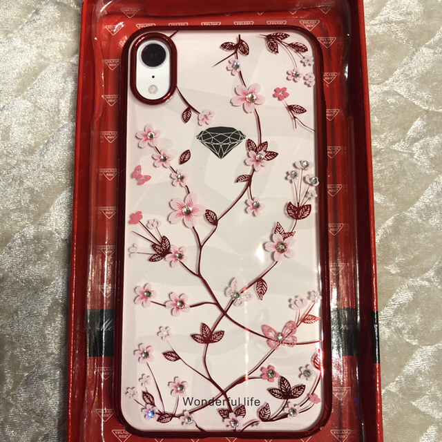 iphone8 ソフト ケース クリア | iPhone XR レッドの通販 by 感謝's shop|ラクマ