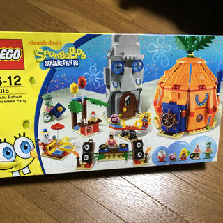 レゴ(Lego)の希少☆  スポンジボブ  LEGO ☆(キャラクターグッズ)