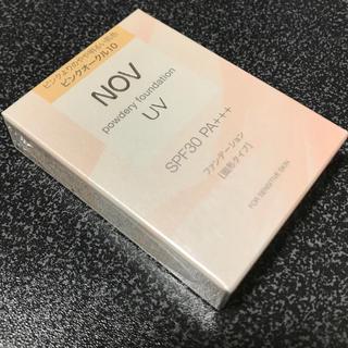 ノブ(NOV)のピンクオークル10 NOV パウダリーファンデーション(ファンデーション)