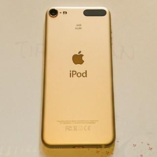 アイポッドタッチ(iPod touch)のApple iPod Touch 6 本体のみ ゴールド16GB(スマートフォン本体)
