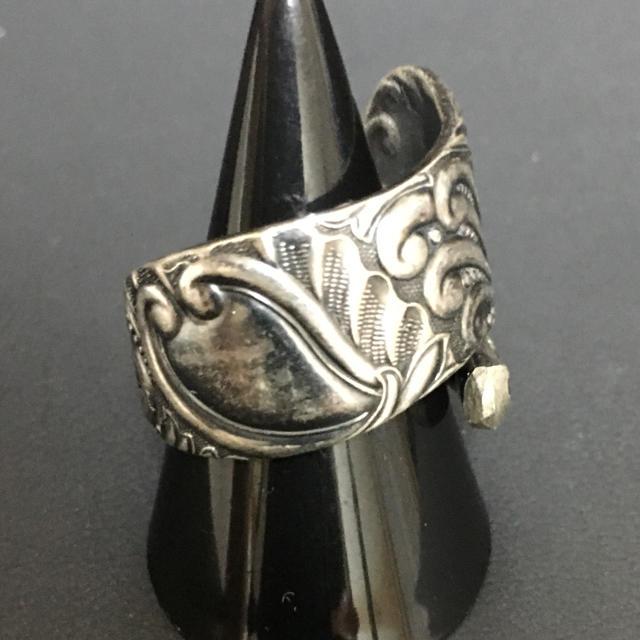 ビンテージ  スプーンリング 希少 指輪 18号 メンズのアクセサリー(リング(指輪))の商品写真