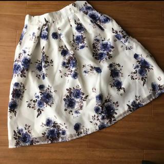 しまむら - しまむら♡花柄スカート