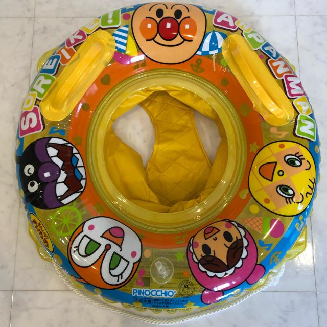アンパンマン(アンパンマン)のアンパンマン 浮き輪 スポーツ/アウトドアのスポーツ/アウトドア その他(マリン/スイミング)の商品写真