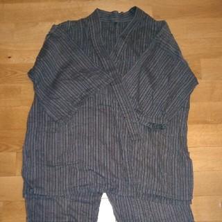 ムジルシリョウヒン(MUJI (無印良品))の無印良品 甚平 綿100% メンズMサイズ(浴衣)
