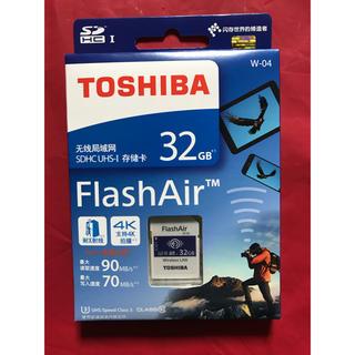 東芝 - 東芝 TOSHIBA 無線LAN FlashAir フラッシュエアー 32GB