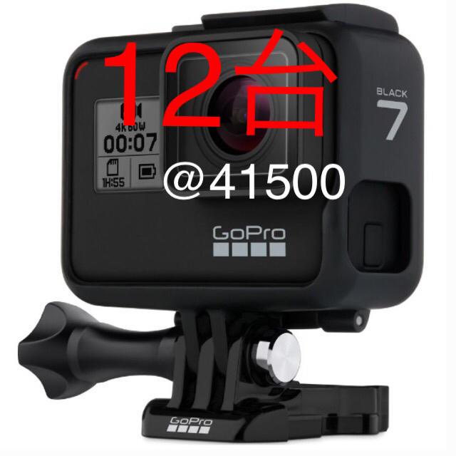 GoPro(ゴープロ)の12台】ゴープロ ヒーロー7 スマホ/家電/カメラのカメラ(コンパクトデジタルカメラ)の商品写真