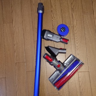 ダイソン(Dyson)のdyson 【V7】直菅パイプと床ブラシ。パーツ(掃除機)