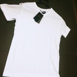 ナノユニバース(nano・universe)の新品■ナノユニバース//wjk 別注VネックTシャツ/白/【M】 (Tシャツ/カットソー(半袖/袖なし))
