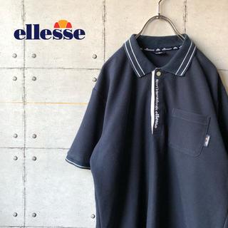 エレッセ(ellesse)の【激レア】 ellesse エレッセ ワンポイント 胸ポケット ポロシャツ (ポロシャツ)