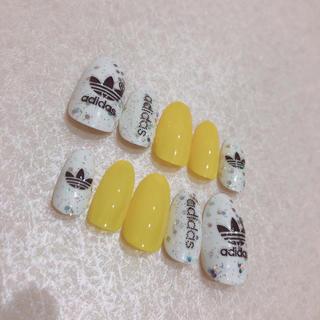 アディダス(adidas)のネイルチップ adidaスポーツ(つけ爪/ネイルチップ)