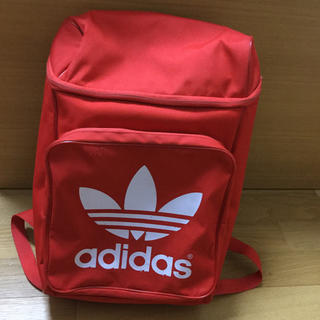 アディダス(adidas)のアディダスオリジナルス   リュック   赤(リュック/バックパック)