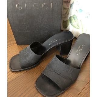 グッチ(Gucci)のGUCCIグッチのミュール✨黒(ミュール)