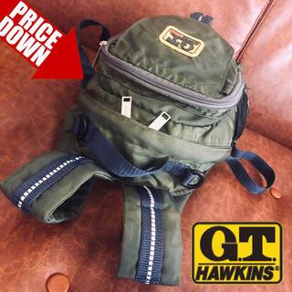 ジーティーホーキンス(G.T. HAWKINS)の正規品G.T.HAWKINS【令和特価】本格派キッズバックパック☆状態良好(リュックサック)