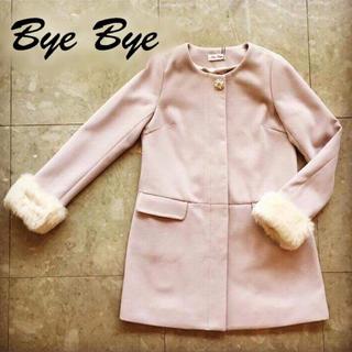 バイバイ(ByeBye)のBye Bye ノーカラーコート(ロングコート)
