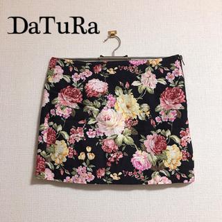 ダチュラ(DaTuRa)のDaTuRa 花柄 ミニスカート(ミニスカート)
