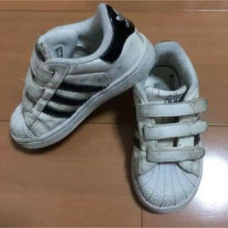 アディダス(adidas)のadidas アディダス スニーカー スーパースター 14センチ(スニーカー)