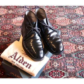 オールデン(Alden)の【レキシントンラスト】Alden オールデン コードバン チャッカブーツ 6.5(ドレス/ビジネス)