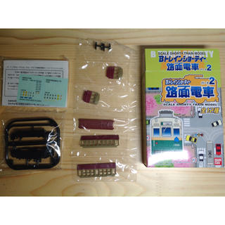 バンダイ(BANDAI)の☆Bトレインショーティー 路面電車パート2 阪神併用軌道線(国道線)201形☆(鉄道模型)