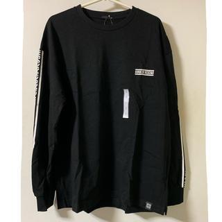 ジーユー(GU)のタグ付き!ロゴロンT(Tシャツ/カットソー(七分/長袖))