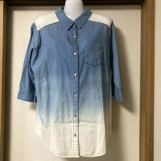 シマムラ(しまむら)の大きいサイズ3Lです。シャツ(シャツ/ブラウス(長袖/七分))