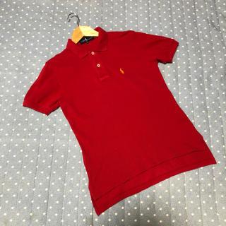 ラルフローレン(Ralph Lauren)のRALPH LAUREN ポロシャツ 赤 M(ポロシャツ)