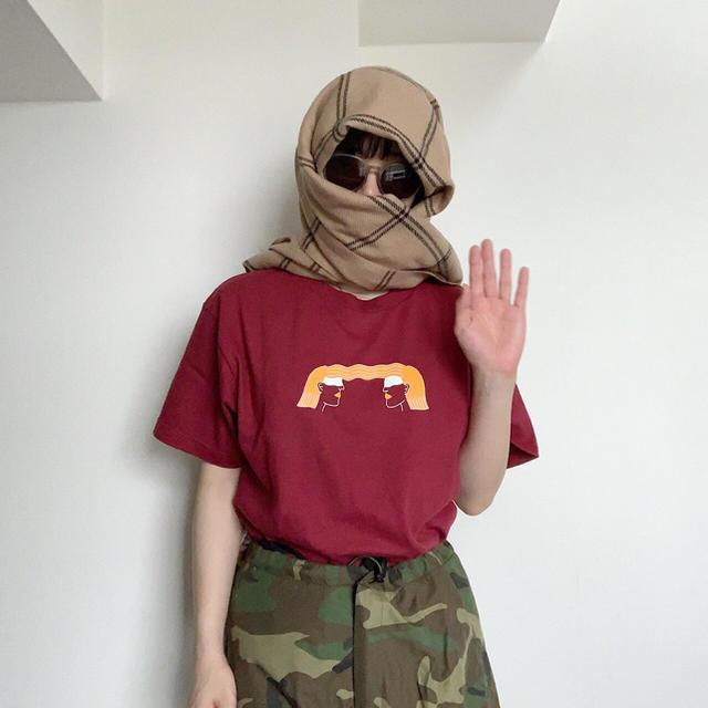 あいみょん ラブ・コール Tシャツ エンタメ/ホビーのタレントグッズ(ミュージシャン)