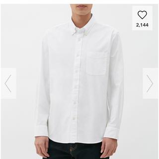 ジーユー(GU)のGU メンズ オックスフォードシャツ (シャツ)