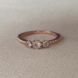 エテ(ete)のK10ピンクゴールド ピンキーリング(リング(指輪))