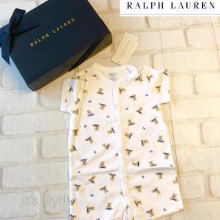 Ralph Lauren - 2019ss  ラルフローレン ベビー ロンパース   3m60cm