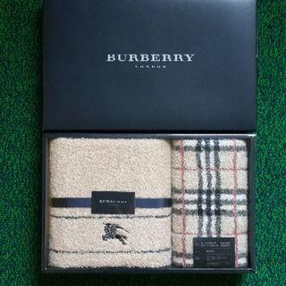 バーバリー(BURBERRY)のバーバリー バスタオル&フェイスタオル&ウォッシュタオル3枚セット(タオル/バス用品)