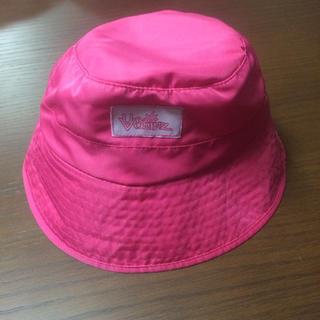 コストコ(コストコ)のUV SKINZ 帽子 バケット ハット 子供用 ピンク 新品未使用 コストコ(帽子)