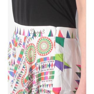デシグアル(DESIGUAL)の新品♡定価11900円 デシグアル スカート ホワイト柄 M⭐️ラスト一点‼️(その他)