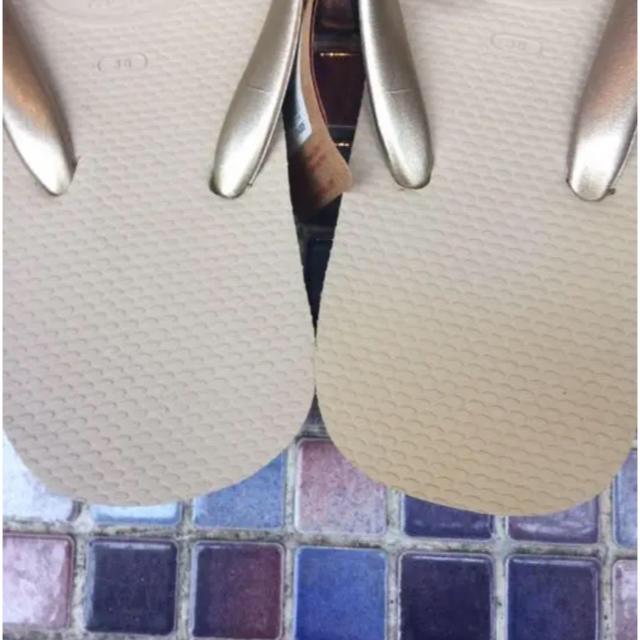 havaianas(ハワイアナス)のハワイアナス 厚底 ビーチサンダル 38 レディースの靴/シューズ(ビーチサンダル)の商品写真