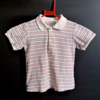 ファミリア(familiar)のファミリア ストライプ ポロシャツ100(ブラウス)