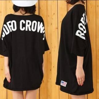 ロデオクラウンズ(RODEO CROWNS)のロデオクラウンズ ショルダーロゴドルマンビッグTシャツ ワンピース(その他)