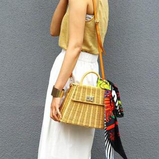 アメリヴィンテージ(Ameri VINTAGE)のrattan bag(かごバッグ/ストローバッグ)