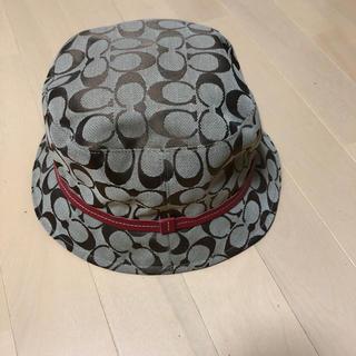 コーチ(COACH)のコーチの帽子になります(ハット)