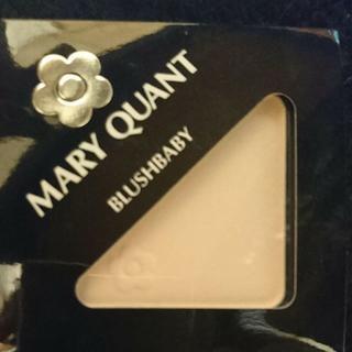 マリークワント(MARY QUANT)の新品マリークワントブラッシュベビー07(チーク)