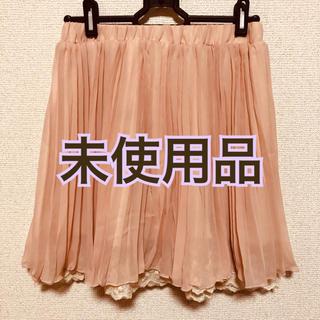 シマムラ(しまむら)の【1300→1200円値下げ】しまむら チュールスカート 膝丈  Mサイズ(ひざ丈スカート)