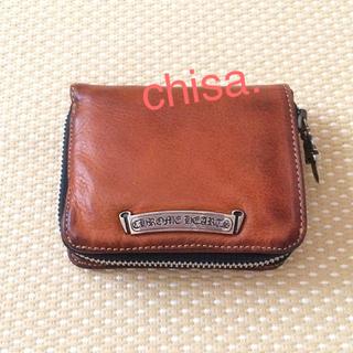 クロムハーツ(Chrome Hearts)のクロムハーツ スクエアジップビル   財布             確実正規品(折り財布)